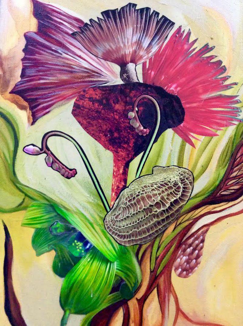 Denman Island Craft Fair artist Matta Schaal