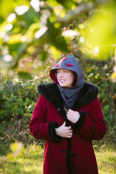 Laura Thompson, creator of Forest Hood